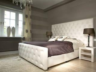 2kul INTERIOR DESIGN Classic style bedroom Textile Beige