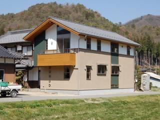 Nhà theo 今村建築一級建築士事務所, Châu Á