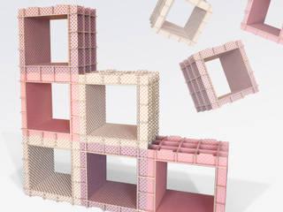 Ensemble de 6 stri-cube:  de style  par Dany Gilles
