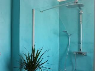 Dusche ohne Fliesen :  Badezimmer von Malerbetrieb Dirk Borsch