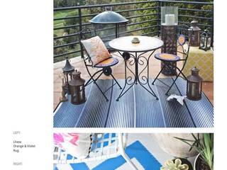 Tapetes Decorativos:  de estilo  por Luz y punto