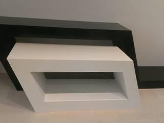 Consoles en Solid Surface par Art de l'Espace Moderne