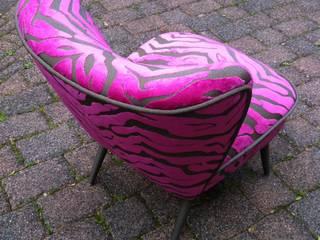 Cocktail Sessel Maputo Zebra Pink Back:   von Design Quintett