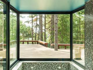 Casa Levene Piscinas de estilo industrial de Luzestudio - Fotografía de arquitectura e interiores Industrial