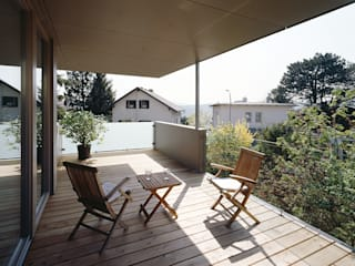 DA-ZU Moderner Balkon, Veranda & Terrasse von DREER2 Modern