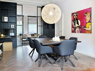 Dining room by choc studio interieur, Modern