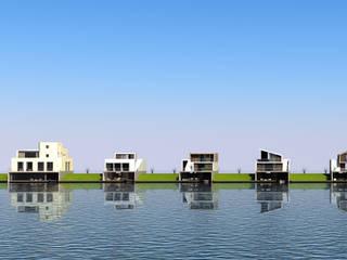 Modern houses by Waterstudio.NL Modern