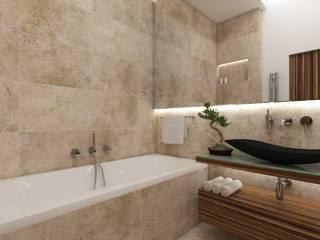 Natur- Badezimmer FUJI Moderne Badezimmer von Perfecto design Modern