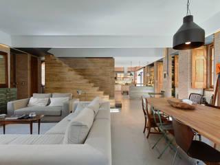 Salas de estilo moderno de Ricardo Moreno Arquitectos Moderno
