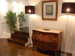 Critério Arquitectos by Canteiro de Sousa Eclectic corridor, hallway & stairs