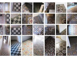La casa de los 7 suelos Salones de estilo moderno de SERRANO + BAQUERO Moderno