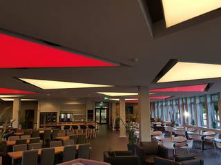 LED Lichtdecken im Meetingbereich Sysmex Deutschland Moderne Häuser von DEZETT Spanndecken Modern