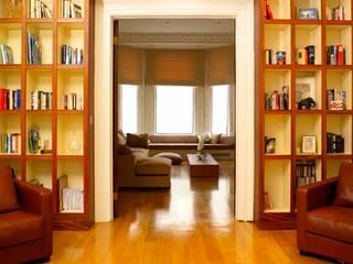 غرفة المعيشة تنفيذ Rebecca James Studio