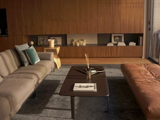 Modern Living Room by AGENCE-COULEUR Modern