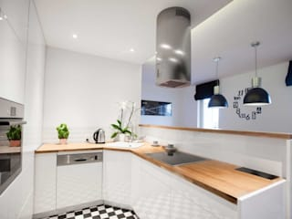 MGN Pracownia Architektoniczna Modern kitchen