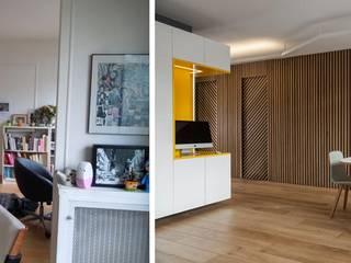 Appartement ludique 70m2:  de style  par Createurs d'interieur Aix-en-Provence