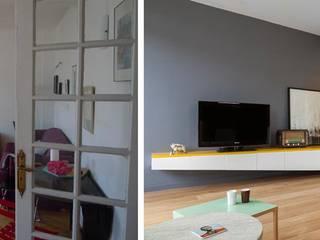 Appartement ludique 70m2 par Créateurs d'intérieur Bordeaux