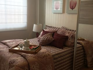 Dormitorios de estilo moderno de Débora Campos Arquiteta Moderno
