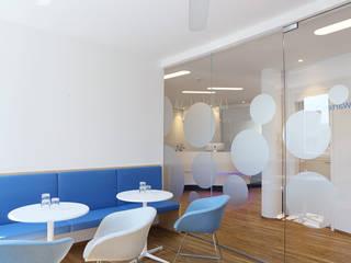 Patientenwartebereich:  Praxen von Hergan Architektur