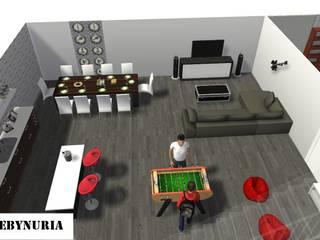 Modern Home Wine Cellar by construcciones y reformas Viguera Modern
