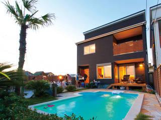 PROSPERDESIGN ARCHITECT OFFICE/プロスパーデザイン 泳池 石器 Blue