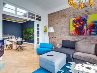 Jugendstil Wohnung/ Endetage/ Harvestehude/ Hamburg / Living-Room: moderne Esszimmer von Studio Stern
