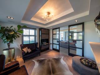 Medie Interieurarchitectuur Living room Fur Brown