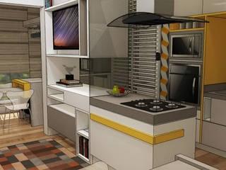 Apartamento São Caetano do Sul Cozinhas modernas por Studio Meraki Arquitetura e Design Moderno