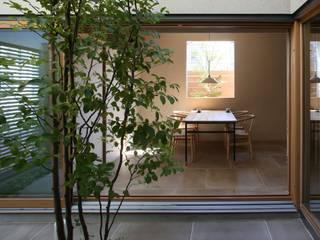 梅沢町の家 モダンデザインの ダイニング の 深山知子一級建築士事務所・アトリエレトノ モダン