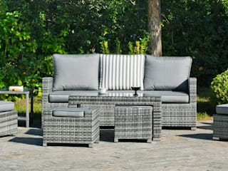 Hevea Garden Furniture Synthetic Grey
