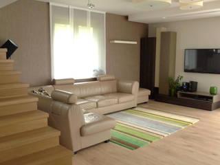 salon Moderne Wohnzimmer von Archomega Modern