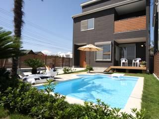 Casas de estilo  de PROSPERDESIGN ARCHITECT OFFICE/プロスパーデザイン, Ecléctico Pizarra