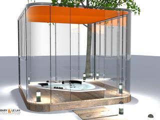 Le plan SPA Frédéric TABARY Spa moderne Transparent