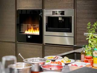 Chili Fire, Good Mood Showroom- Warsaw: styl , w kategorii  zaprojektowany przez Planika Fires