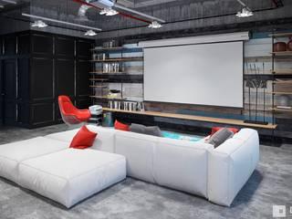 Salon industriel par GM-interior Industriel