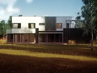 Projekty domów - House x01 Majchrzak Pracownia Projektowa Nowoczesne domy