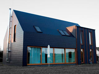 Projekty domów - House 27.1 Majchrzak Pracownia Projektowa Nowoczesne domy