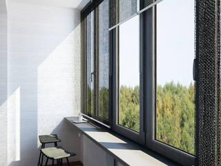 Terrazza in stile  di BIARTI - создаем минималистский дизайн интерьеров