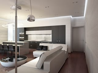 Soggiorno in stile  di BIARTI - создаем минималистский дизайн интерьеров