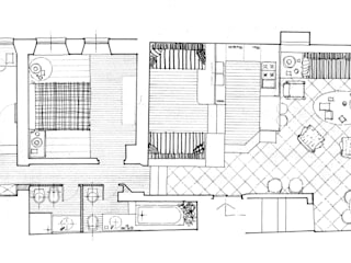 VITTORIO GARATTI ARCHITETTO Salones modernos