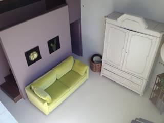 Casa A Soggiorno moderno di Studiopp8 Moderno