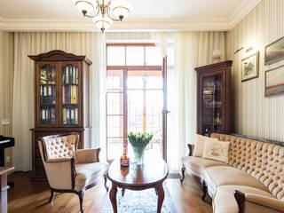 Oficinas de estilo clásico de Gzowska&Ossowska Pracownie Architektury Wnętrz Clásico