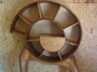 Bibliothèque Spirale:  de style  par Pierre SUBRIN ébéniste