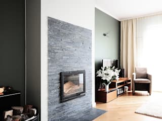 modern Living room by IDeALS | interior design and living store