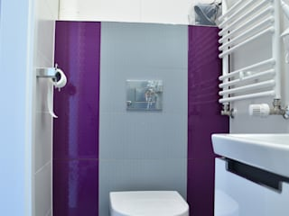 Łazienka nowoczesna Nowoczesna łazienka od Milan design Nowoczesny