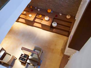B.LOUNGE - BEAUTYLOUNGE:  Geschäftsräume & Stores von EINFACH3 Architekten Ziviltechniker KG