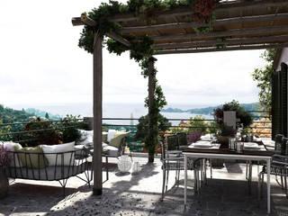 Le Baie di Levante: Case in stile in stile Mediterraneo di TecMa Solutions