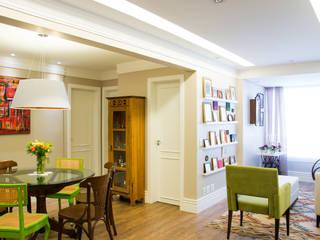 Salas / recibidores de estilo  por Leticia Sá Arquitetos