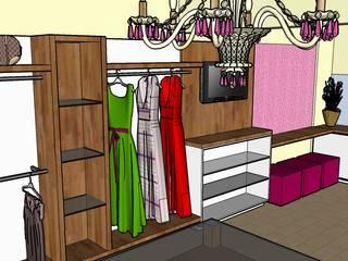 Maquete dos móveis e acabamentos:   por Andresa Jessita