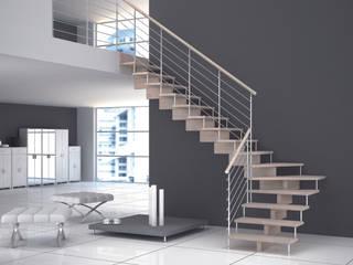 Pasillos, vestíbulos y escaleras de estilo minimalista de Grana Scale Minimalista